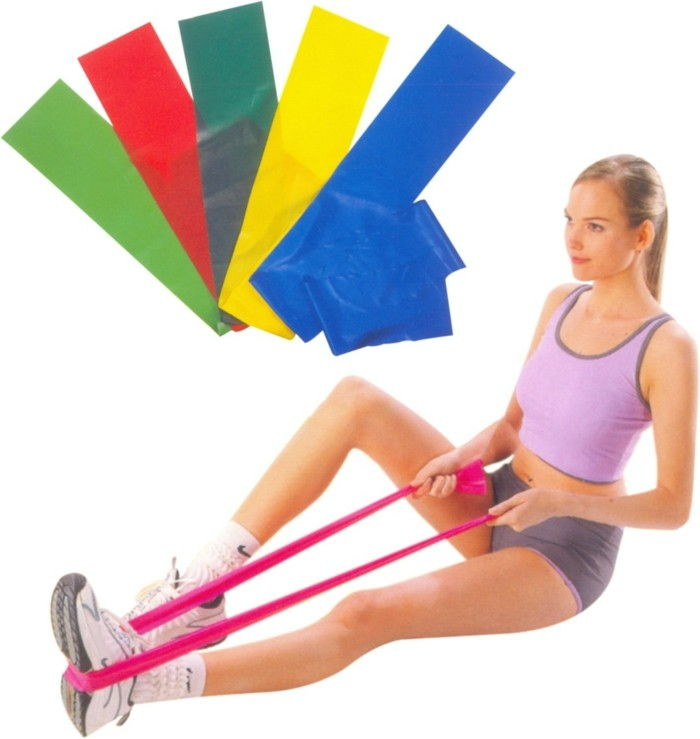 6workout-for-home-Slee-work-training plan-for-home-rubber band oefeningen