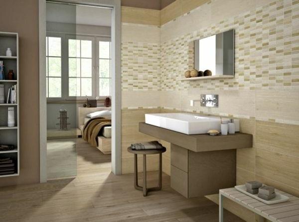 Azulejos Com Aparência De Madeira No Banheiro!