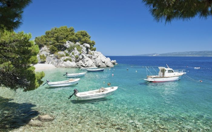 Brela-Croazia-spiagge-fresche bella carta da parati-spiagge-the-beautiful-spiagge-europe