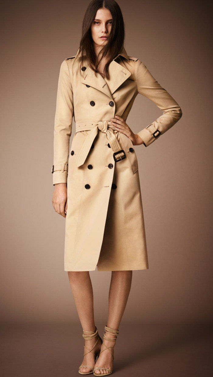 Burberry trench coat Damer med bälte