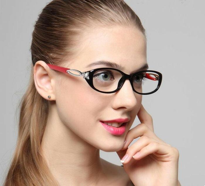 49e20ac8767ef8 Elegant en modern damesframe met brillen in twee tinten