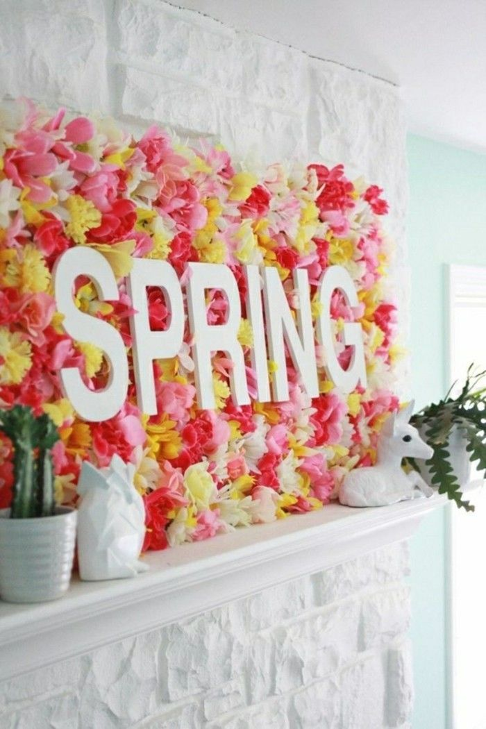 funileiro on-the-spring-de-flores-decorando ideias-