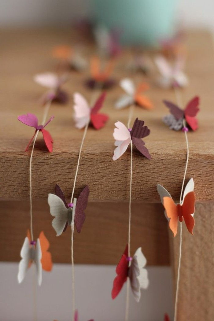 Decorando ideias-para-o-spring-paper-butterfly-craft
