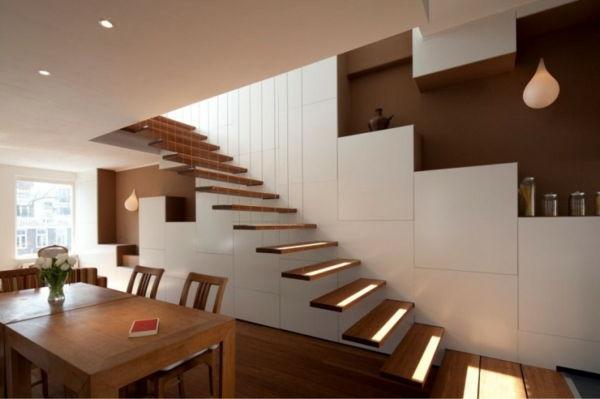 Houten Trap Ideeen : Trap opknappen ideeen beste van beste wanddecoratie houten trap