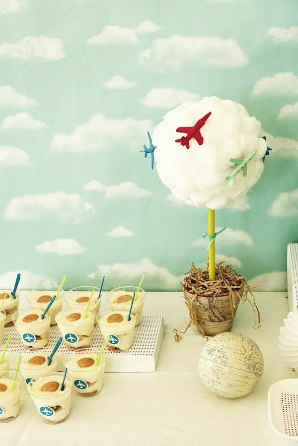 Airport Themed Birthday Party