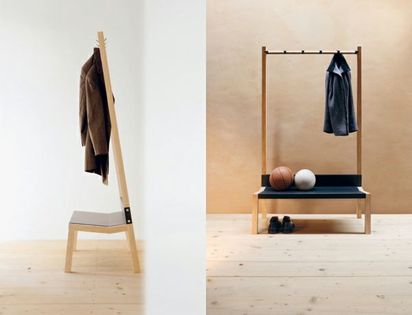 Coatrack-wood-with-original-design Design de lemn