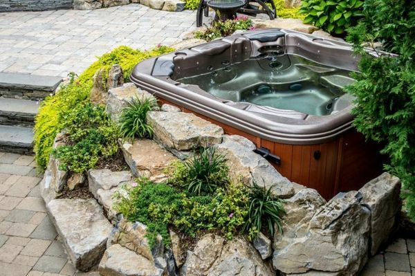 -Gestaltungsideen-by-the-perfect-ogród z jacuzzi - Whirlpool
