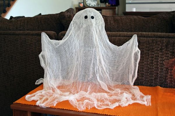 Halloween decorazione-fai-te-fantasma