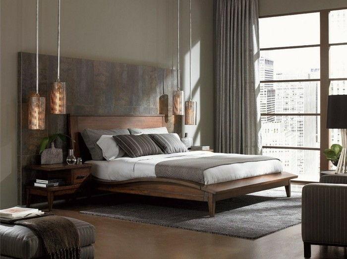 Idee calmanti per il design della parete della camera da letto