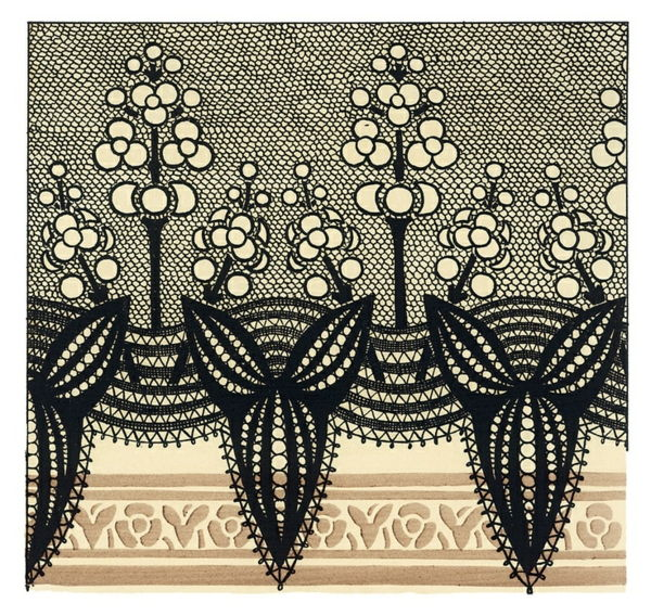 Art Nouveau - Ornaments-Templates-Deco-Black-and-Chic