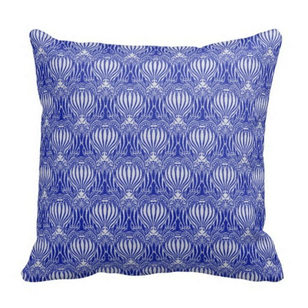 Art Nouveau - Ornaments-Original Pillow-Purple