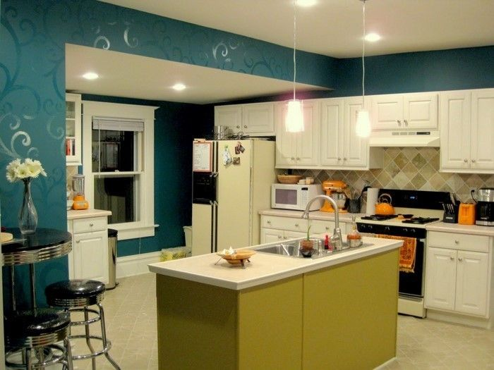 Kitchen Wall-A-moderne design
