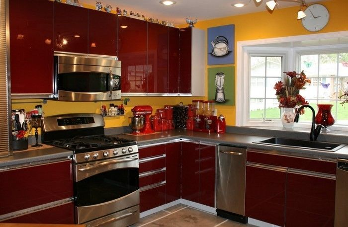 Kitchen Wall-A-kreativ design