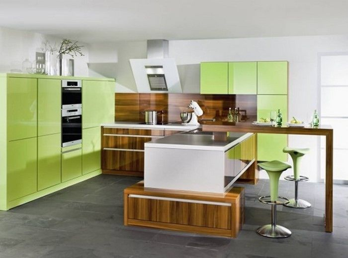 Kitchen Wall-A-moderne utforming