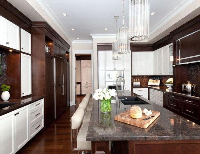Mobili da cucina in marrone: 70 grandi idee per la casa
