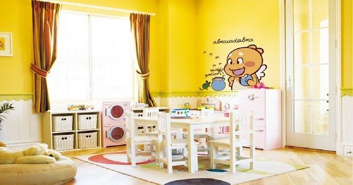 Behang Kinderkamer Geel : Gallery of ideeen woonkamer behang behang kinderkamer inspiratie