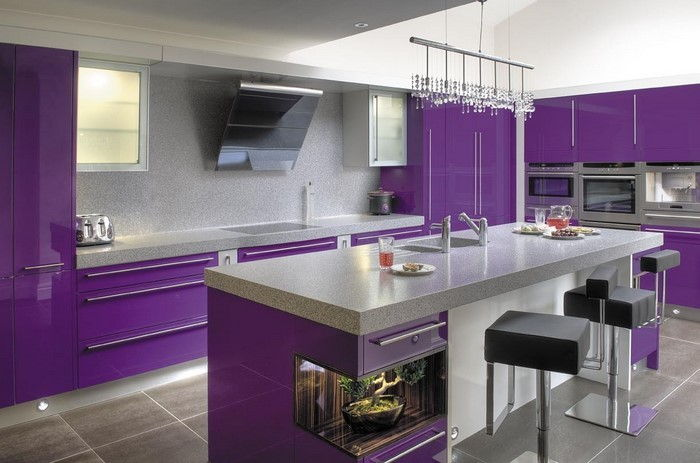 cucina-in-viola-set-a-Splendida Outfit