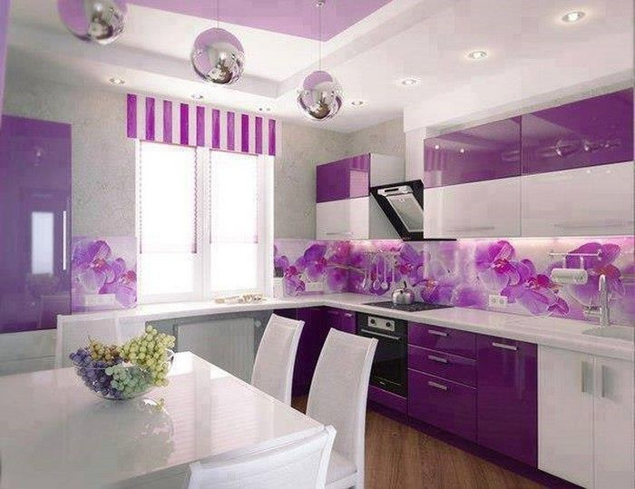 cucina-in-viola-set-a-Splendida-device