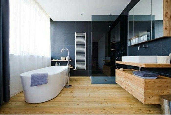 Houten ijdelheid voor meer gezelligheid in de badkamer
