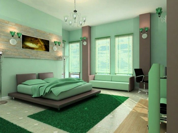 Bedroom-kleur groen-as-grass