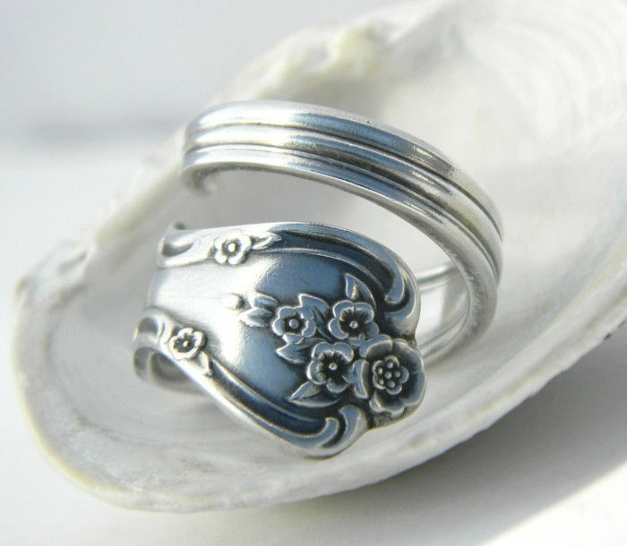 gioielli-da-old-argenteria-ring-of-the-impugnatura con soft-fiori-motive-