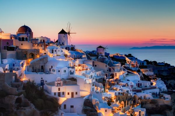 Sunset-in Oia