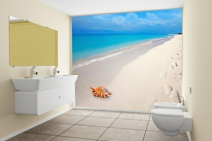 Beach-wallpaper-in-the-water
