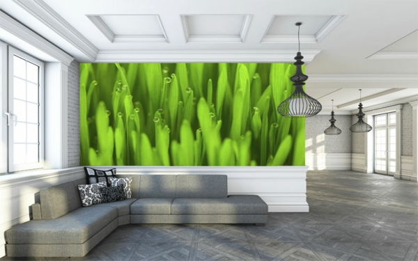 Perete .in-Greens-Mural