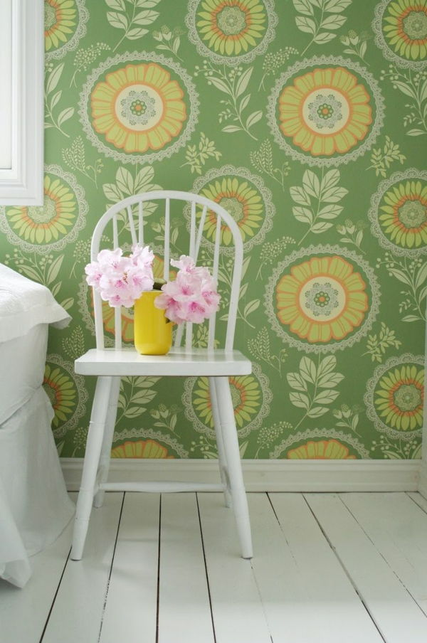Greens perete .in Wallpaper