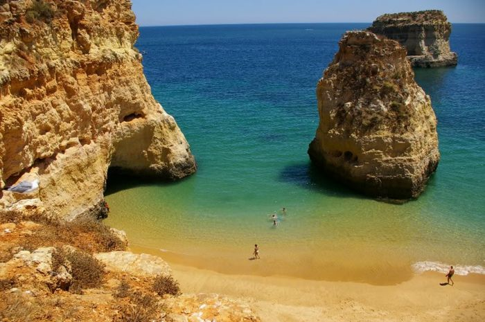 carta da parati Algarve-spiagge-cool-belle spiagge-the-beautiful-spiagge-europe