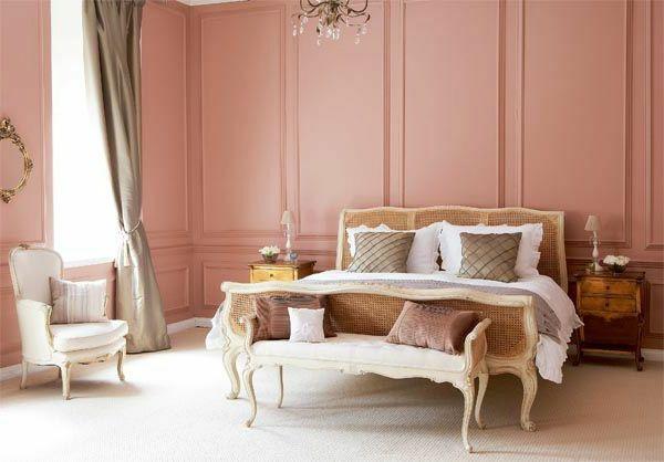 Camera Da Letto Rosa Antico : Vecchia pittura murale rosa: goditi lo spirito del tempo!