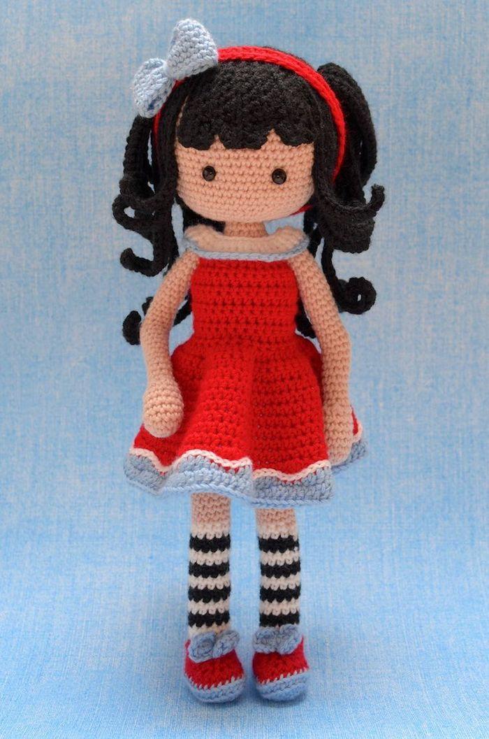 Boneca Ariele em Amigurumi - YouTube | Bonecas de crochê, Bonecas ... | 1057x700