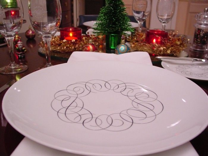Decorazioni Da Tavola Per Natale : Esempi originali di decorazioni da tavola fantasia