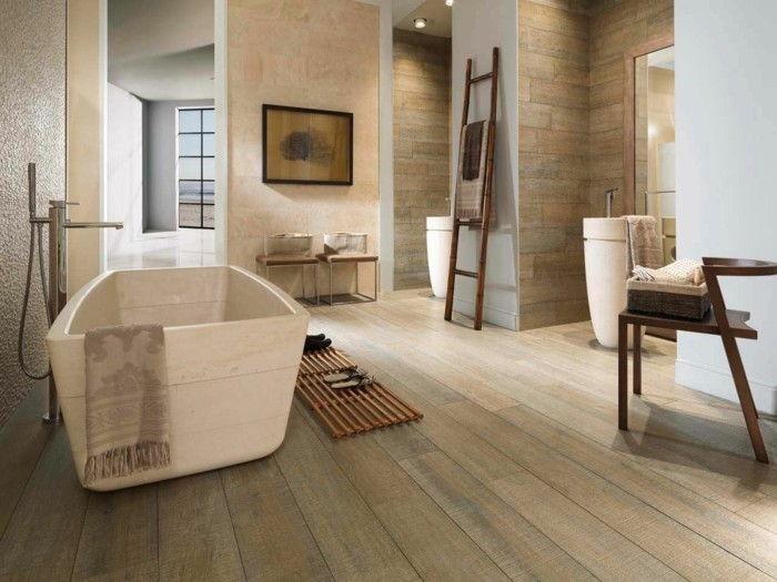Piastrelle per pavimenti in legno cercano un grande bagno