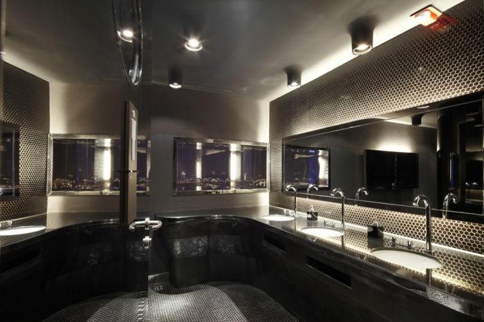 Bagno Con Mosaico Nero : Design del bagno a mosaico idee