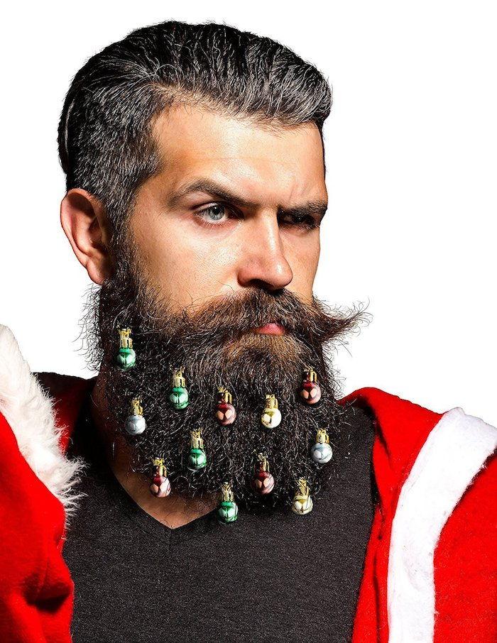 Vopsea de barba verde