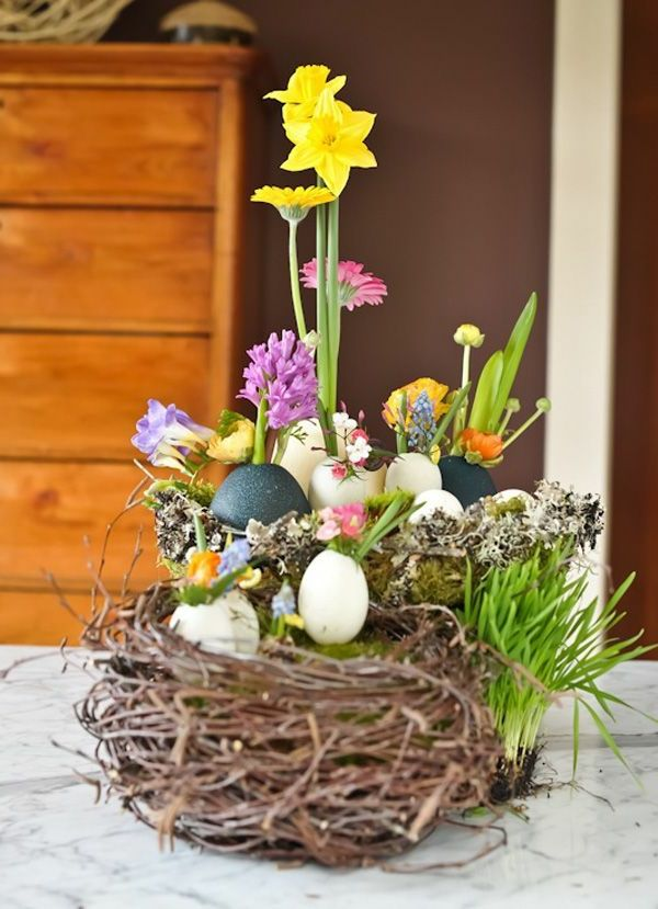 tinker-easter-craft-tinker-ideas-easter-table-decoration-beautiful-ideas Dekoracja stołu na Wielkanoc