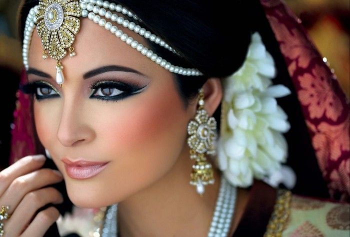 sposa make-up asische-donna-diverso-make-up-make-Schmuck-idea-per-il make-up
