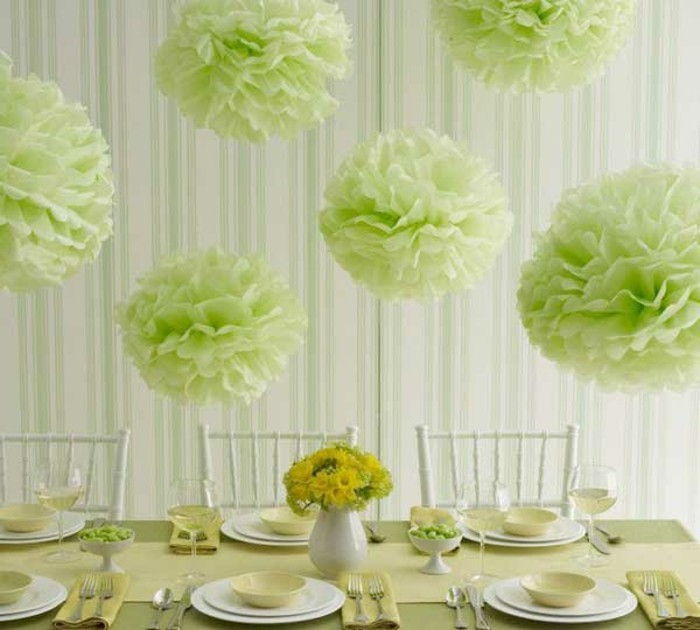 on-the-wedding-DIY-projekt skapande cool-green-elements-