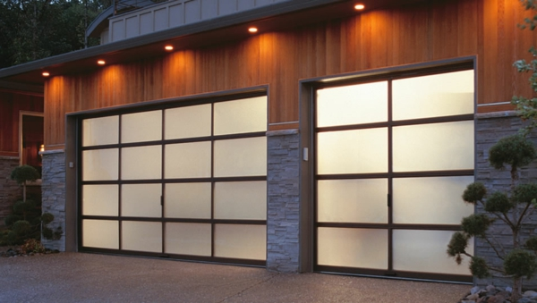 Plafoniere Garage : Garage moderni u disegni originali