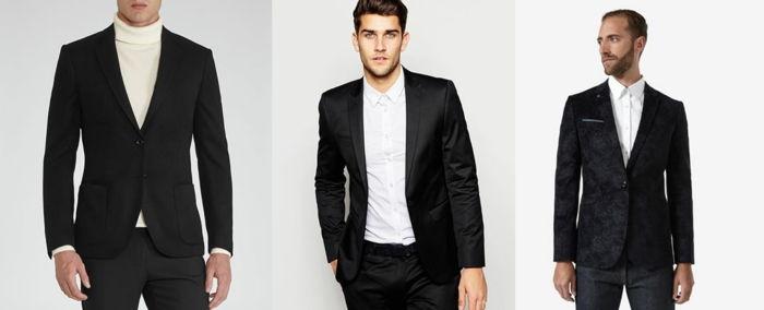 16f9ef859f0e73 dresscode feestelijk maakt de blazer mannen nog eleganter en groot zwart en  wit