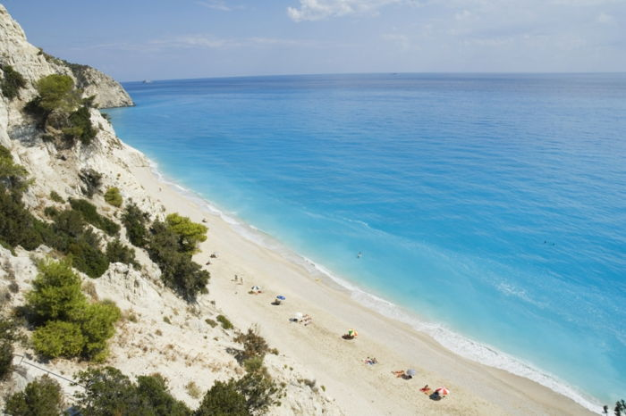 Egremnoi-Beach-Lefkada- (Lefkas) -Greece