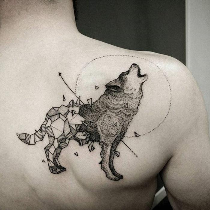 45 Pomysły Na Tatuaż Wilka