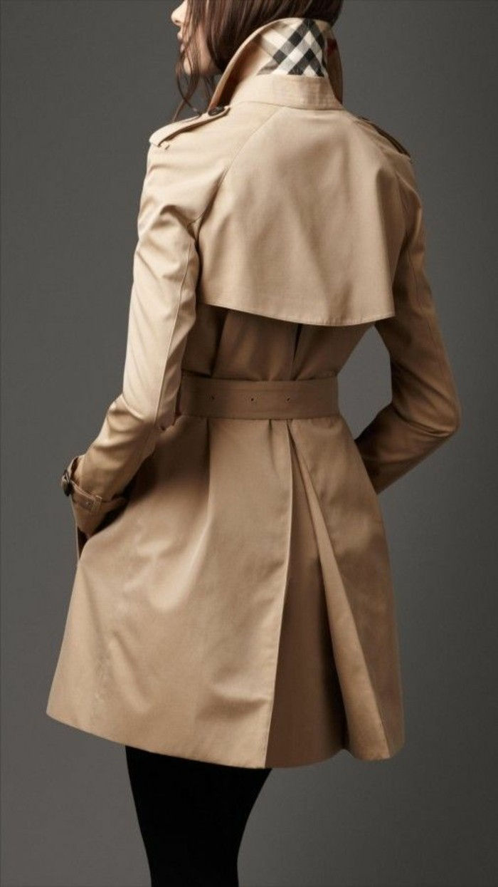 elegant coat-of-the Burberry varumärket