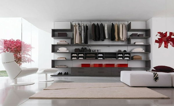 Exklusiv-walk-in closet-Interior