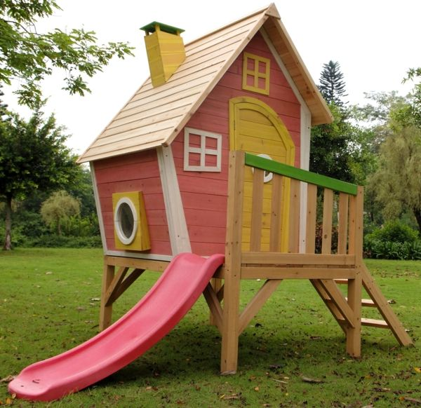 fantastisch spel-homes-in-tuin-for-the-kinderen-slide
