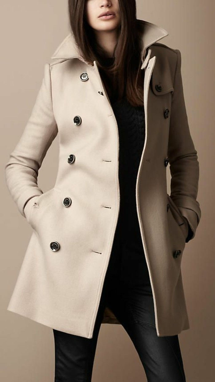 fantastiskt-slim-fit modell Burberry coat