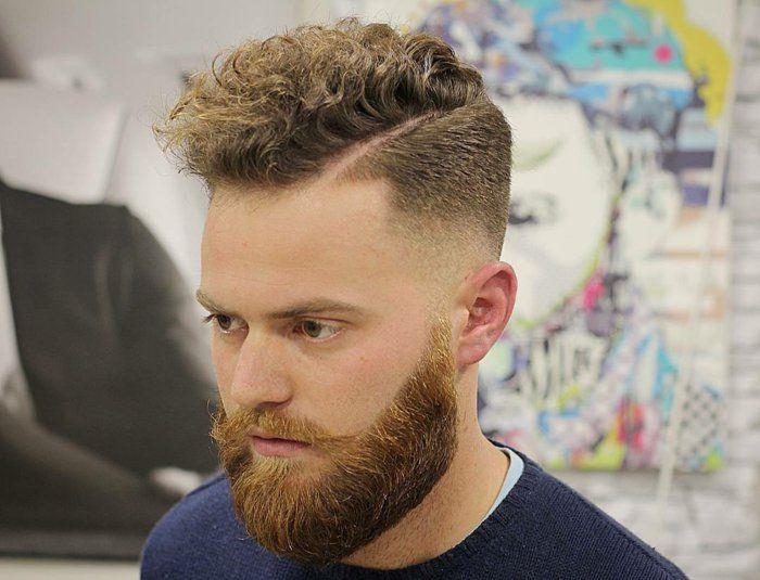 79 Męskie Fryzury Na Kręcone Włosy