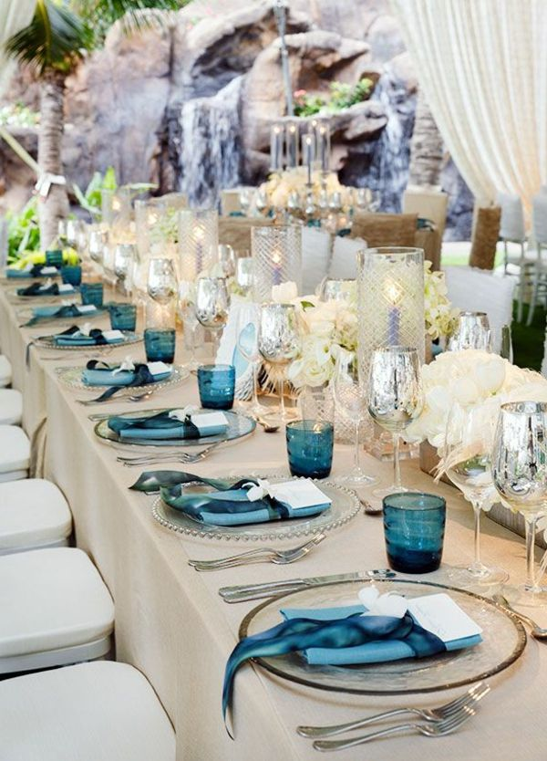 idéias de design-for-the-table-Tischdeko-casamento blumendeko-
