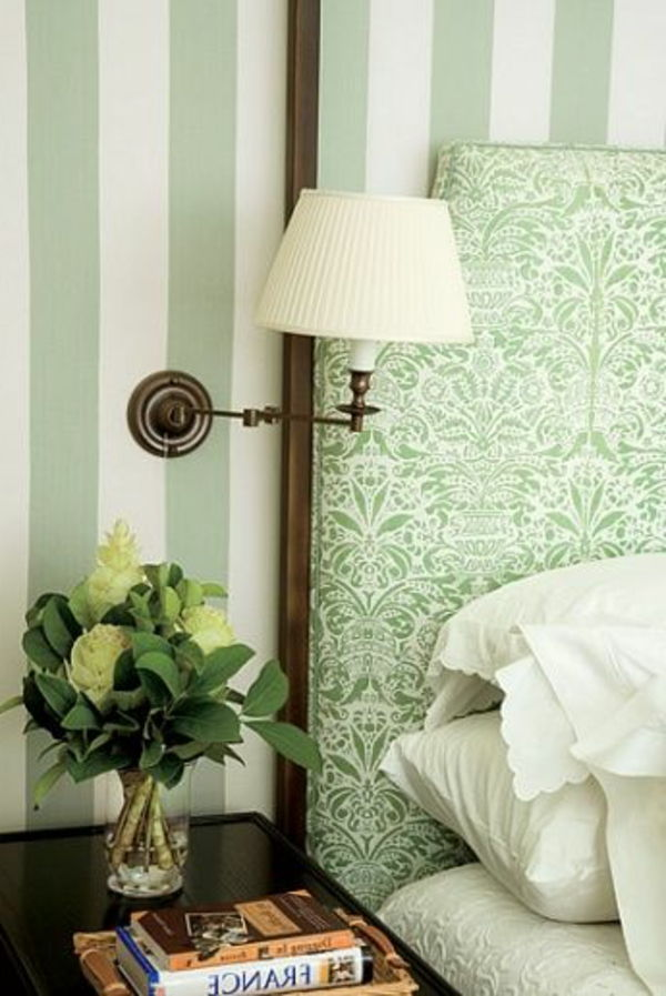 green-wall design-for-slaapkamer-gezellig-ambiente